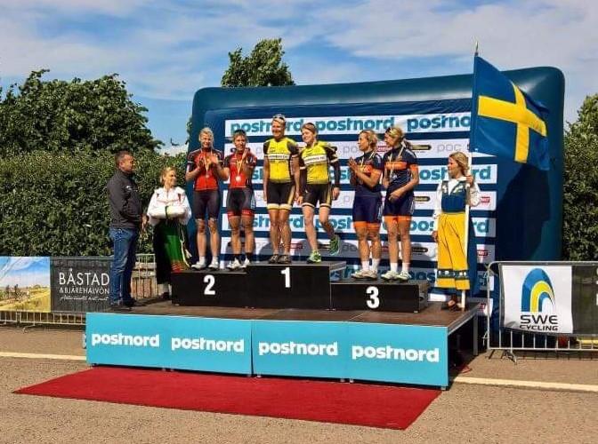 SM-silver i par-tempo till TK genom Mirella och Anna idag!